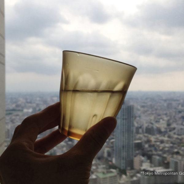 東京の地平線―(c)2014 Kunio.Osawa 大沢邦生