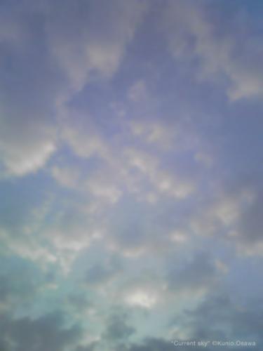 Current sky ©2010 Kunio.Osawa 大沢邦生