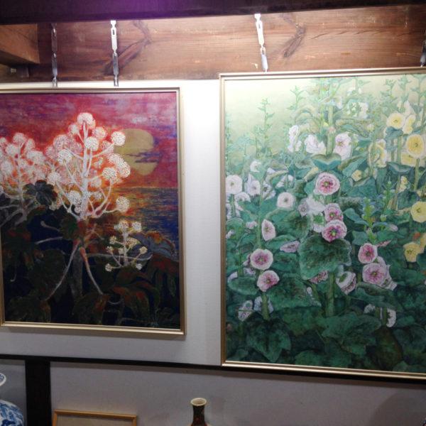 大澤静枝(おおさわしずえ)日本画