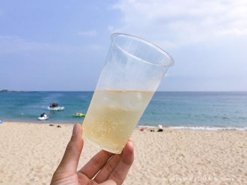 """Ginger ale horizon"" ©2016 Kunio.Osawa 大沢邦生"
