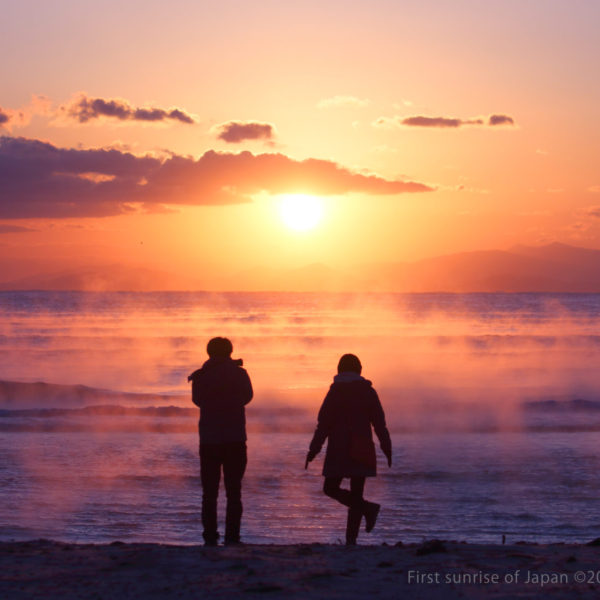 First sunrise beach ©2020 Kunio.Osawa 大沢邦生